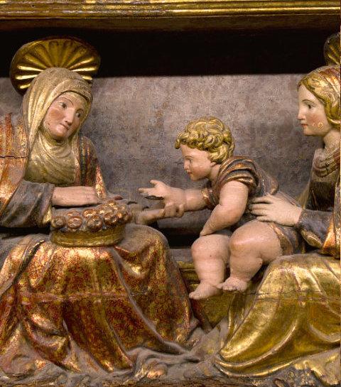 Detalle retablo Sesma