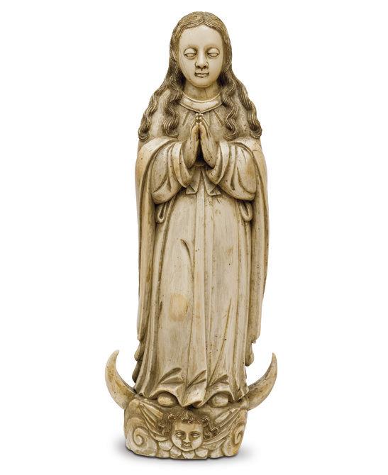 Virgen marfil